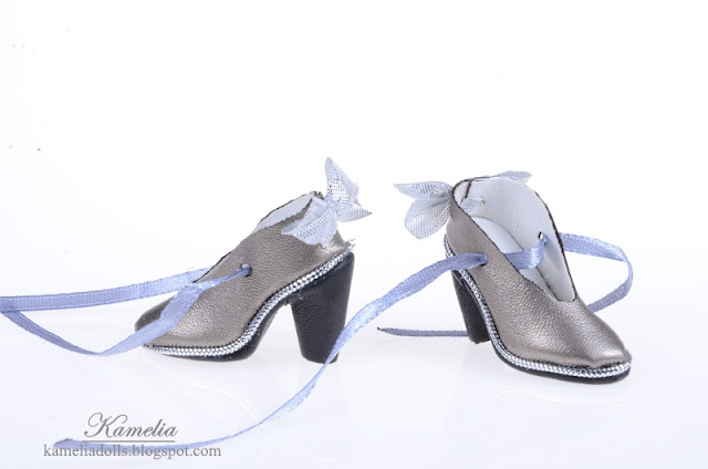 Handmade shoes for Tonner Tyler doll.