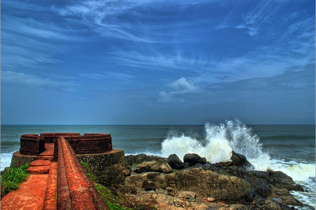 Bekal Fort Beach in Kerala