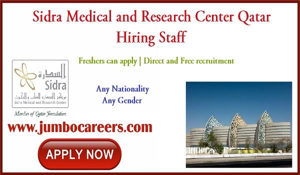 Qatar jobs for Indians, Doctor job vacancies in Qatar,