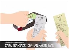Cara Transaksi menggunakan Kartu Tani
