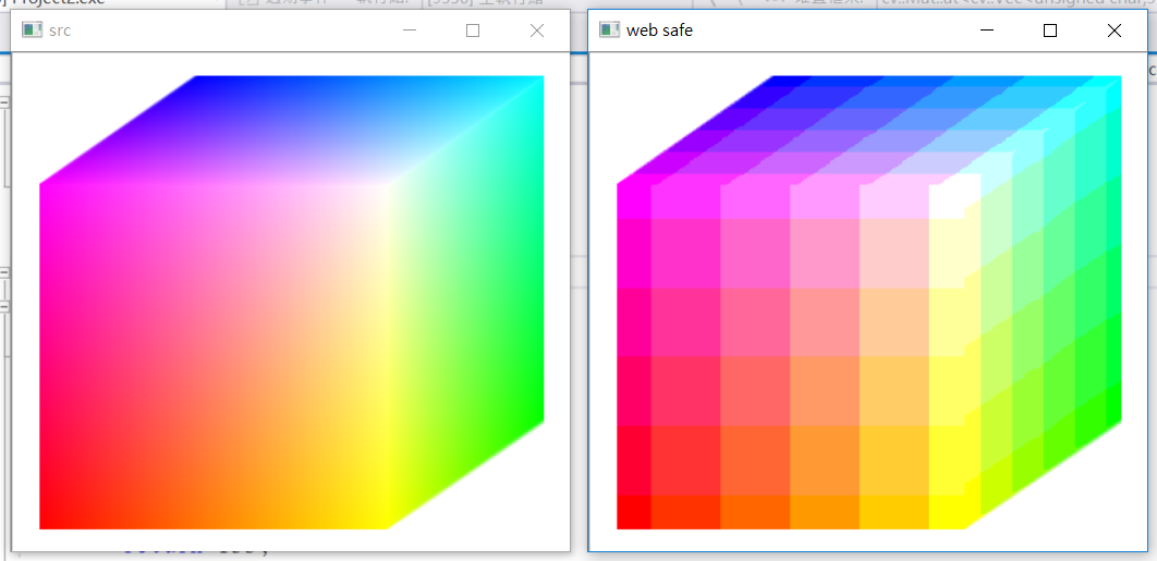 OpenCV] Convert RGB to Web-Safe Colors