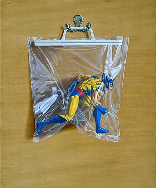 10-Logan-Wolverine-Simon-Monk-Bagged-Superheroes-in-Painting-www-designstack-co