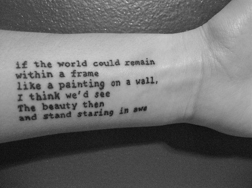 Most Popular Tattoo Quotes For Women