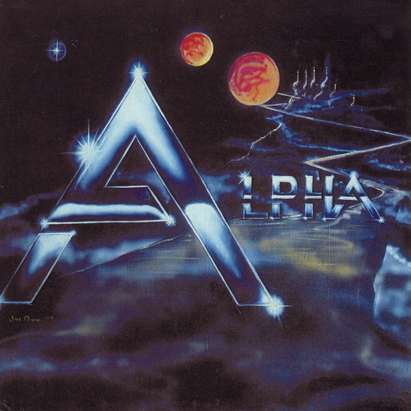 ALPHA - Alpha(1987) LP restored audio