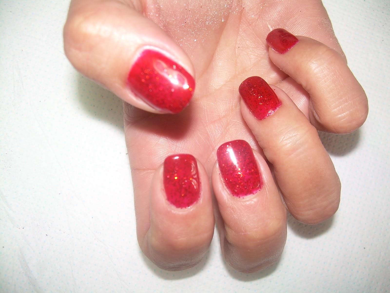 Mariagrazia Nails Art Semipermanente Rosso Con