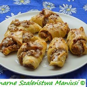 Rogaliki Z Trzech Skladnikow Kulinarna Maniusia Blog
