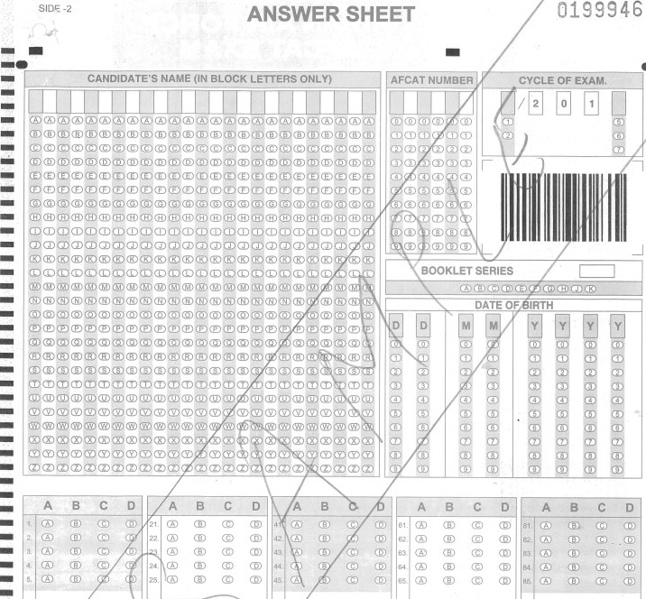 Afcat 2013 Exam Answer Key Pdf