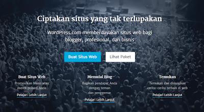 Mendaftar blog di wordpress