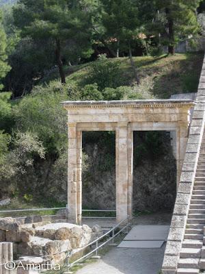 Théâtre d'Epidaure Argolide Péloponnèse Grèce