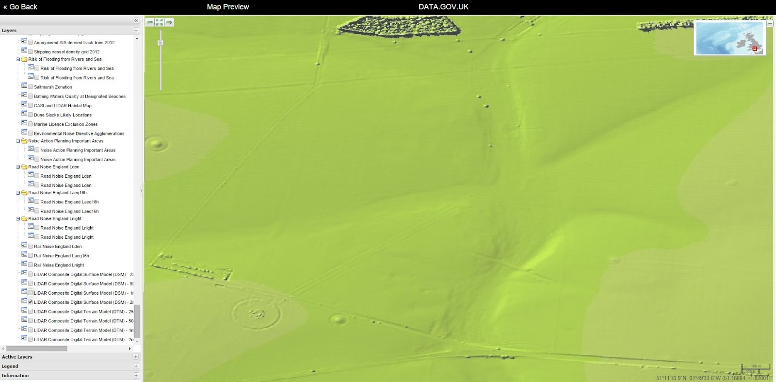 Simple Map Of England.Simple How To View Free Lidar Mapping Of England And Wales