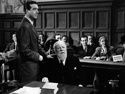 Kris and Fred in court in Miracle on 34th Street