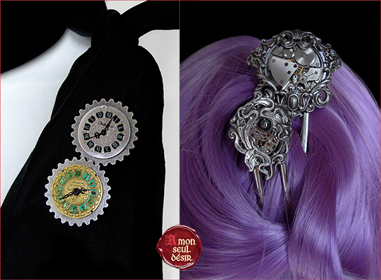 Bijoux STEAMPUNK Jewelery