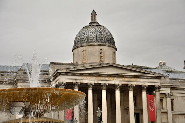 Muzeum National Gallery na Trafalgar Square to symbol Wielkiej Brytanii.