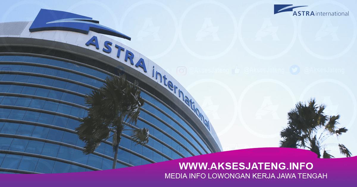 Lowongan PT Astra International Tbk (Astra Motor) Semarang Februari 2018