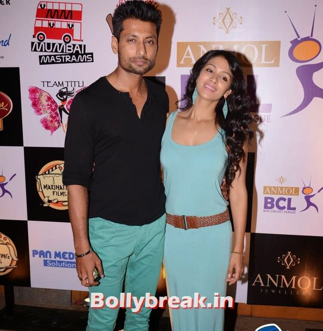 Indraneil Dasgupta and Barkha Bisht, Box Cricket League Success Party - Tv Babes as Guests