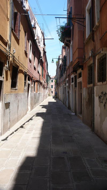 ヴェネツィアの街並み