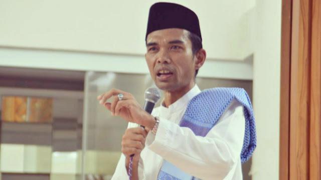 Kesaksian Teman Dekat, Ustaz Abdul Somad Dicap Pancasilais