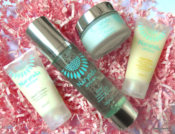 One Little Vice Beauty Blog: Narynda Skincare review