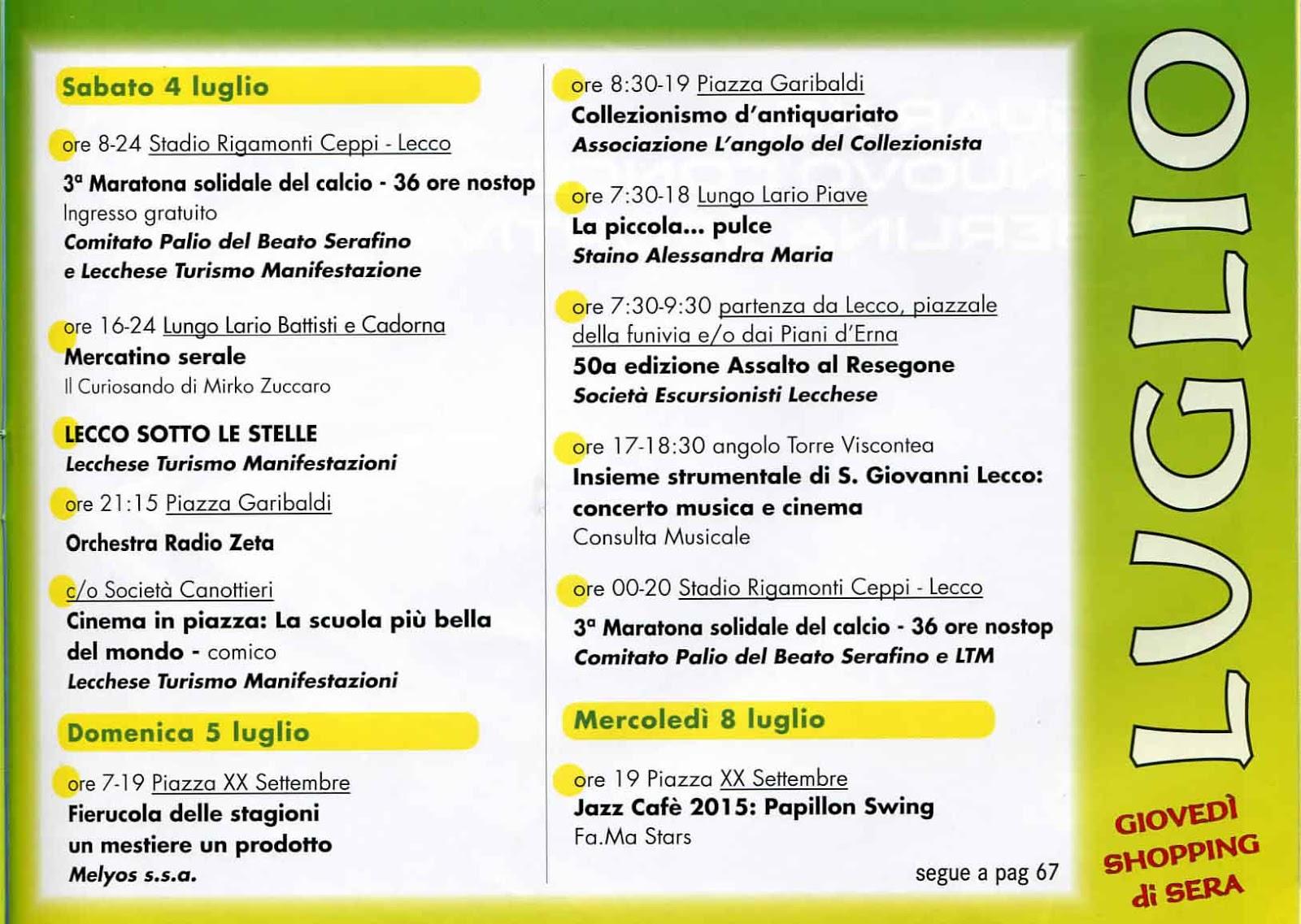 Orchestra Radio Zeta Calendario.Il Blog Di Elleci Magazine Feste In Piazza
