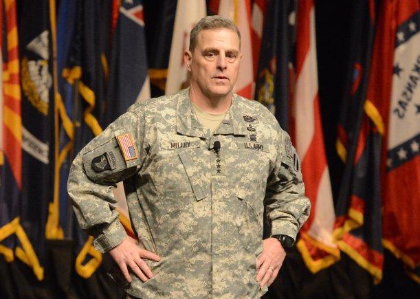 Ο Στρατηγός Mark Milley