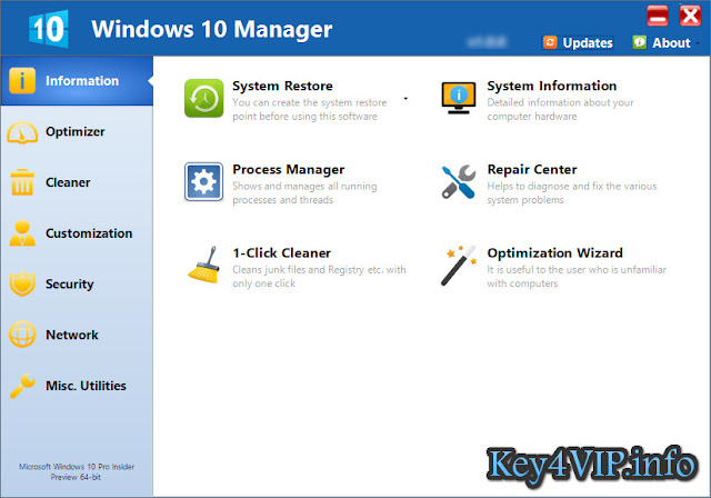 Yamicsoft Windows 10 Manager 1.0.9 Full Download