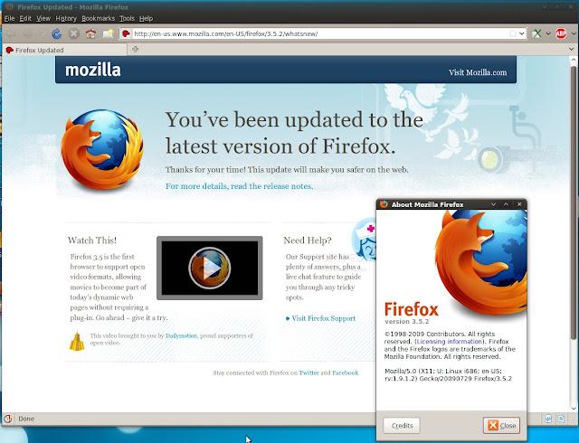 تحميل متصفح موزيلا فايرفوكس لينوكس Download Mozilla Firefox 45.0.1 for Linux