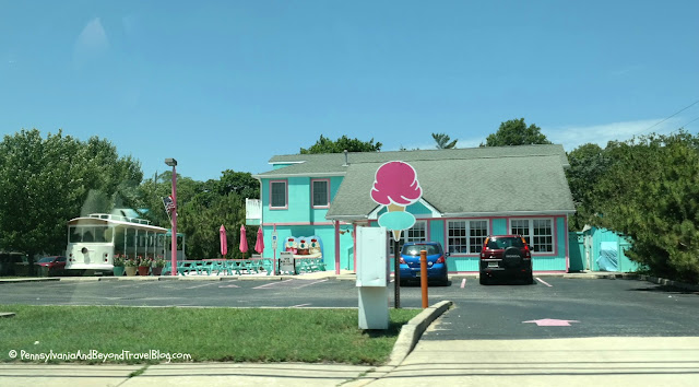 Trolley Stop Ice Cream Parlor at Cape May Courthouse