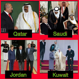 Tahukah kita bahawa semua pemimpin besar negara islam memberi tongkat kepada jemaah dajjal seperti Amerika dan Israel??