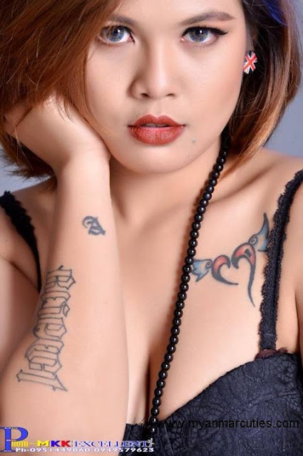 tattoo beauty of A Thin Cho Swe