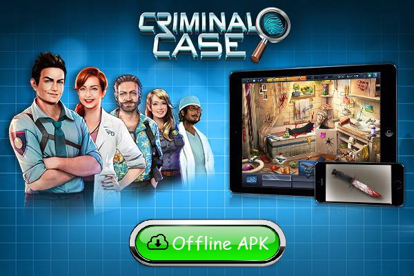 Criminal Case is a hidden objects game where you need to investigate a series of mysterious murders in a gloomy town as a Police Officer