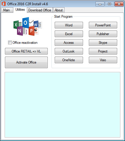 office 2016 retail to vl