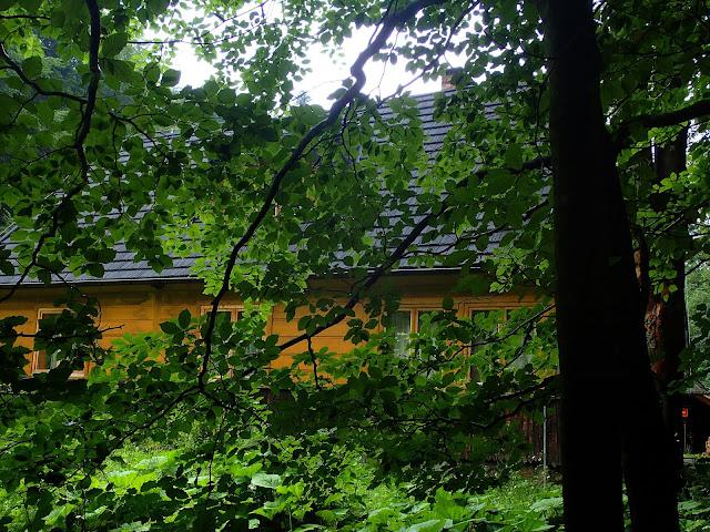 Leśniczówka w Dolinie Strążyskiej