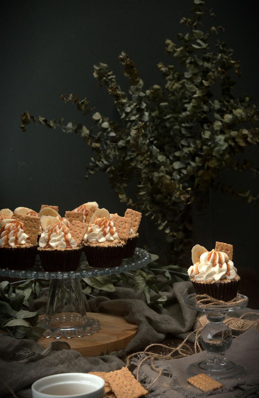 Cupcakes banoffee pie