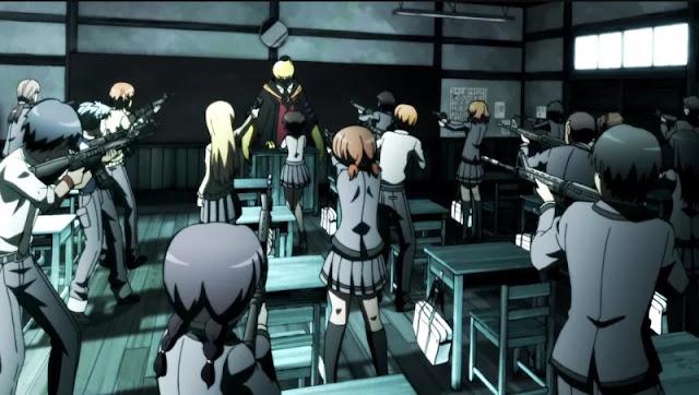gambar anime Ansatsu Kyoushitsu