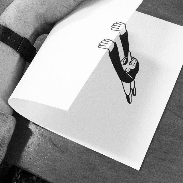 gambar kartun yang kreatif dan terlihat hidup-13