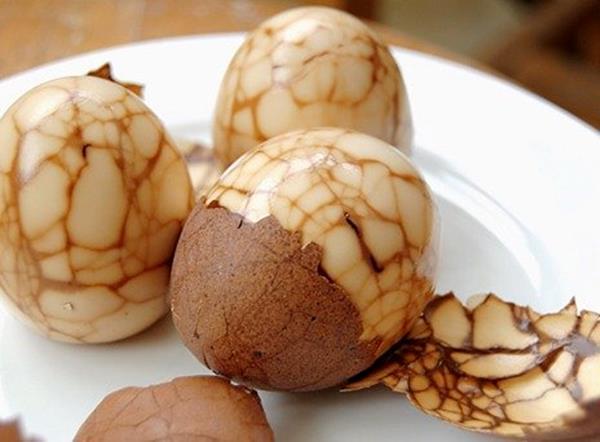 teh telur imlek