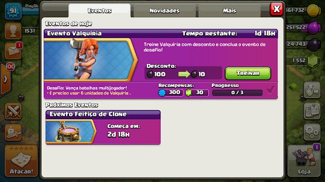 Valquíria no Clash of Clans