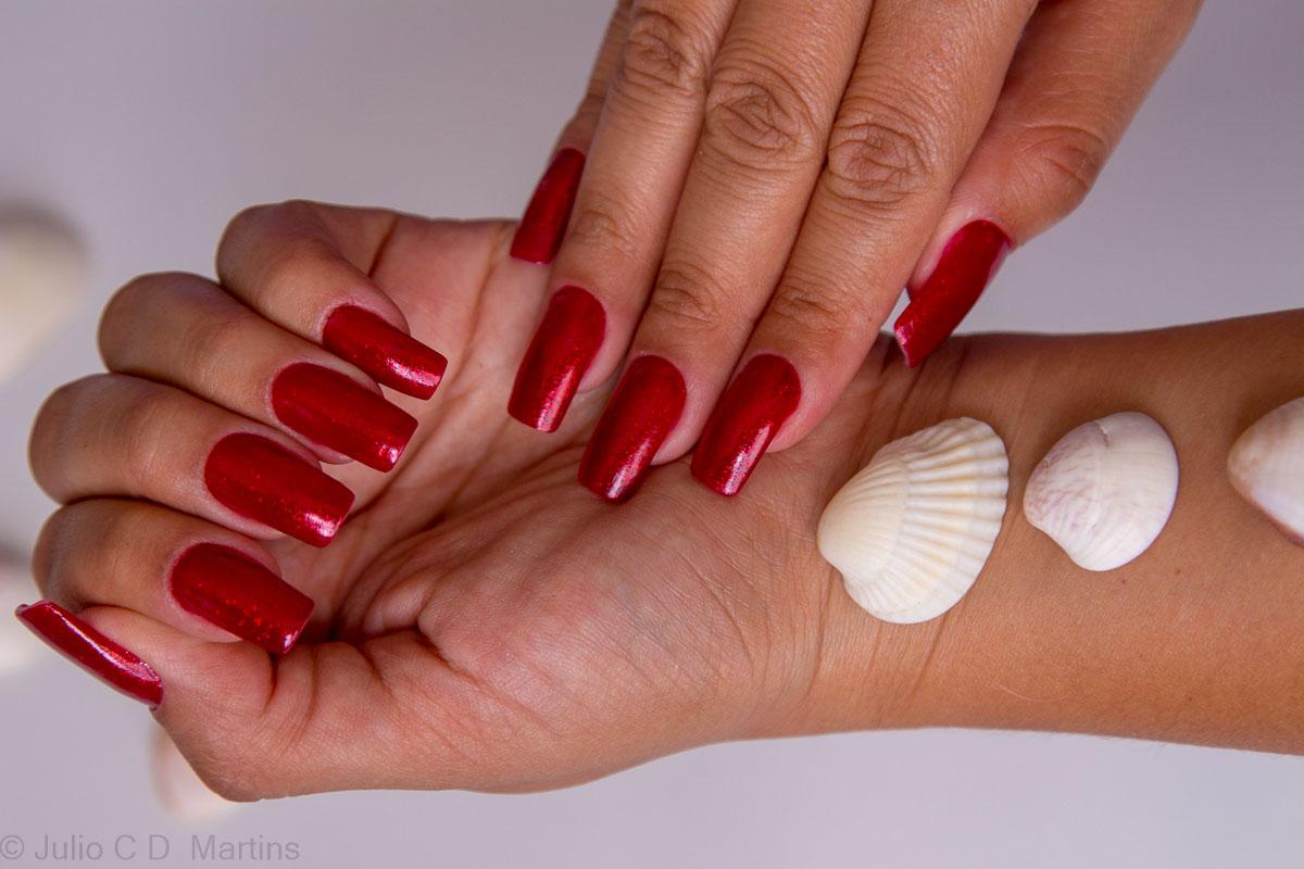 Esmalte para o verão 2018: Valentine+Ruby Pumps e alongamento em acrílico