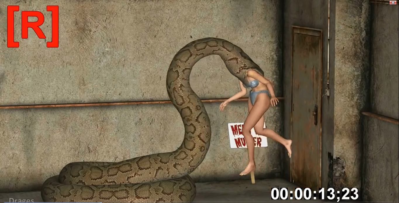 Girl Eaten Alive By A Snake - The Nepali Song