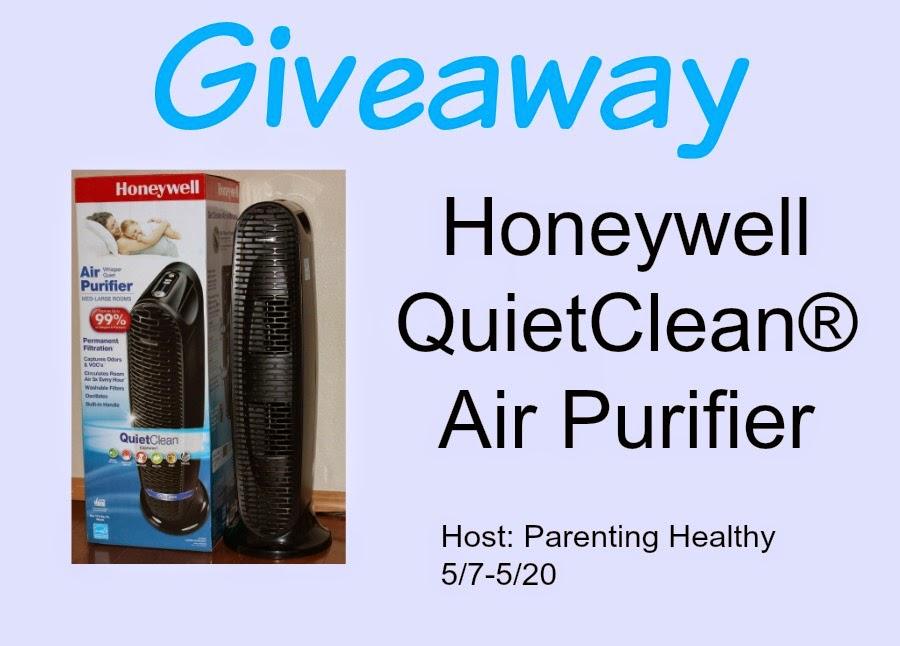 Enter the Honeywell Air Purifier Giveaway. Ends 5/20