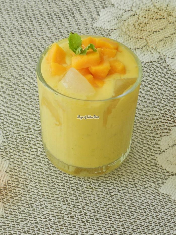 Minty Mango Lassi