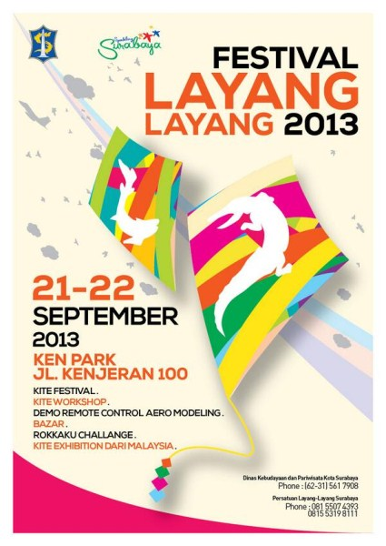 Dinas Pariwisata Surabaya 2013 Pariwisatasurabaya Festival Layang Layang Surabaya 2013 Info Surabaya