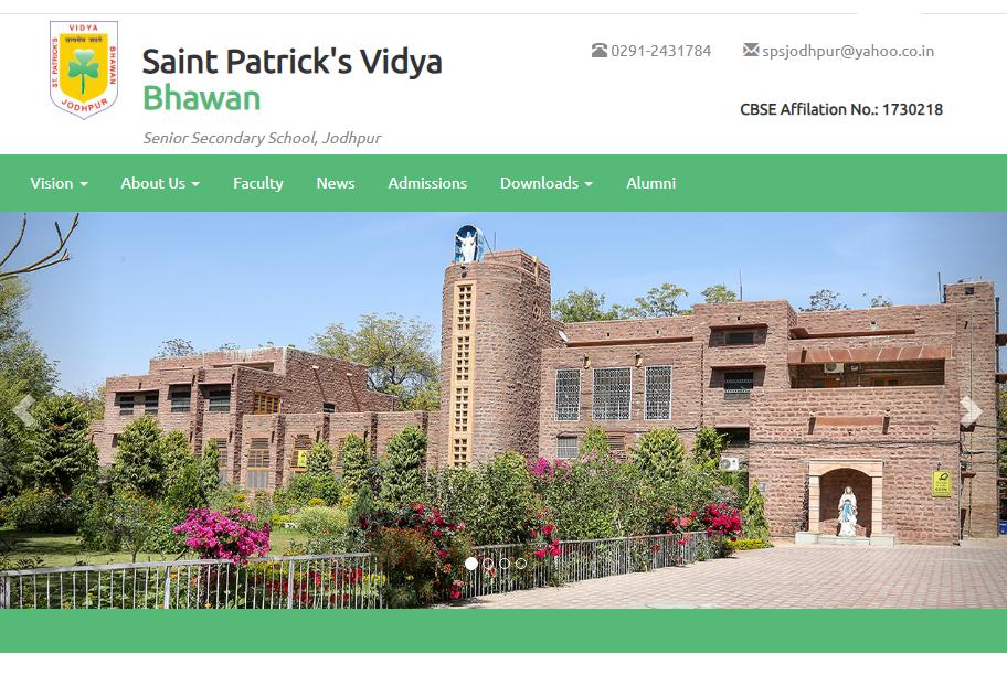 Saint Patrick's Vidya Bhawan, Jodhpur