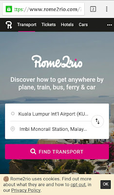 Petunjuk Transportasi Umum Untuk Para Backpacker Liburan Ke Malaysia Lengkap Dengan Peta