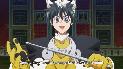 Hakyuu Houshin Engi Episode 01 Subtitle Indonesia