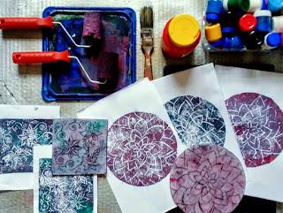 4 Maio, 14h: Oficina de Gravura e Impressão Artesanal - Isogravura