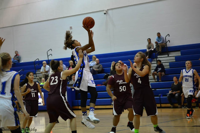 Germantown Hills vs St. Thomas 8th Grade Girls Basketball, Metamora Herald