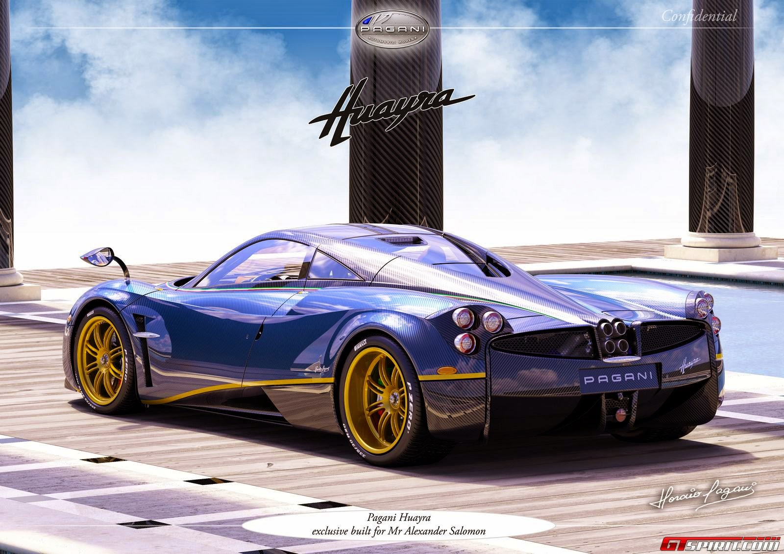 Image [ 3 of 6 ] - Prototype 0 Pagani Huayra 730s Revealed Part of ...