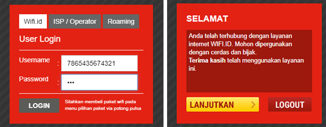 Cara mendapatkan voucher (akun) @wifi.id GRATIS (Cara Kedua) 5