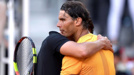 Rafael Nadal drops first match on clay in a year with loss to Dominic Thiem at Madrid Open